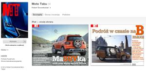 Moto Tabu w AppStore